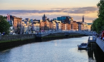 1. River Liffey Dublin city centre
