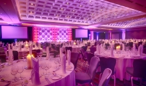 18. gala dinner in Clayton Hotel Burlington Road ballroom