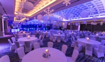 21. Christmas themed ballroom at clayton hotel burlington road