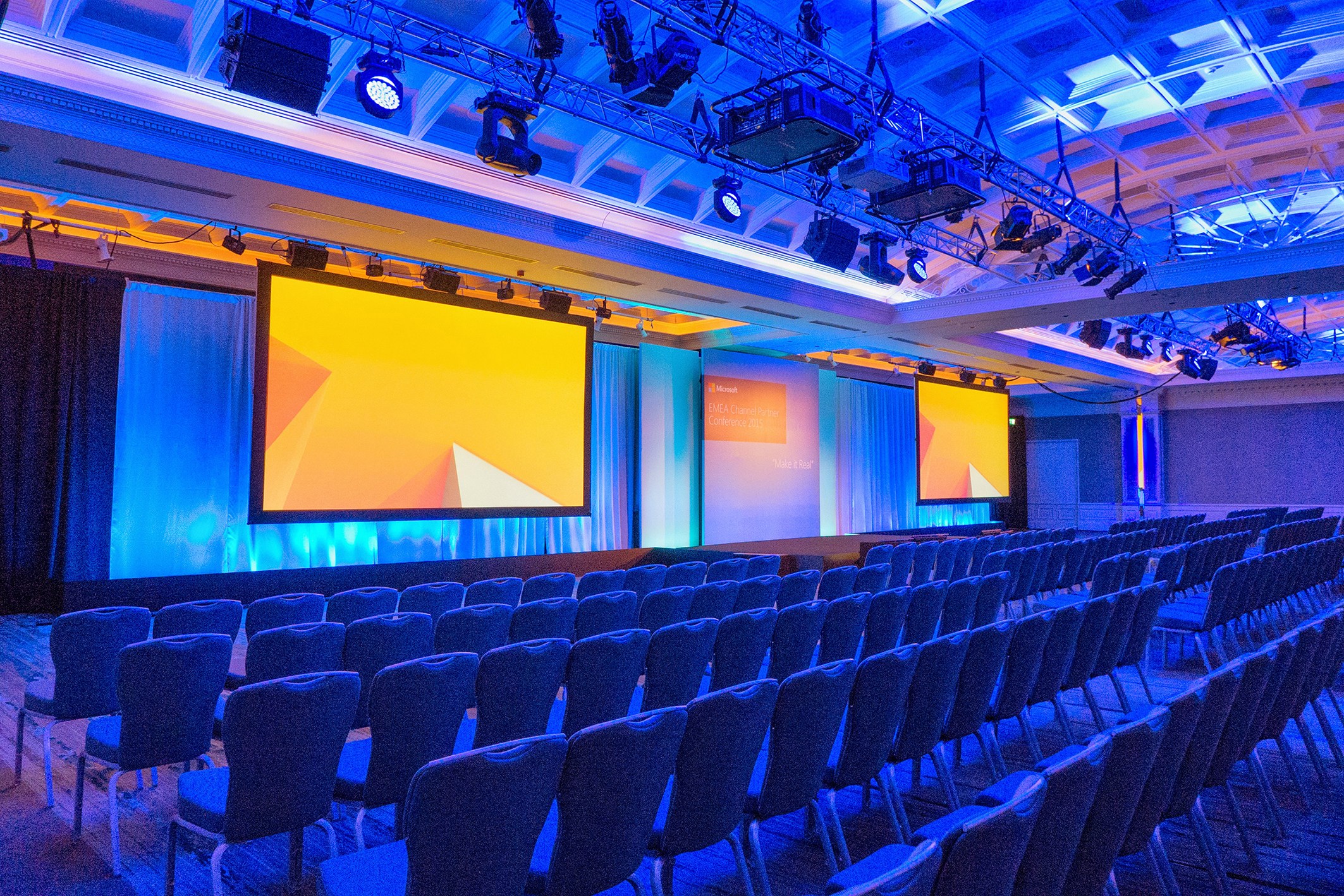 3. conference room set theatre style Clayton Hotel Burlington Road