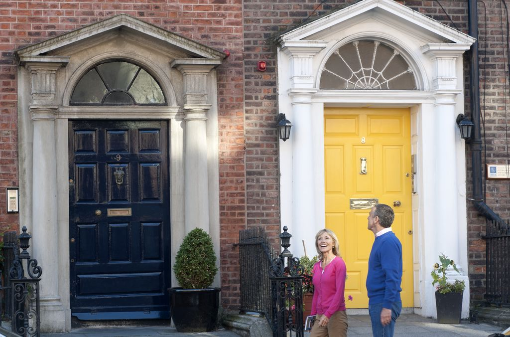 5. Georgian Doors Dublin City