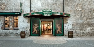 jameson distillery bow street near cardiff lane