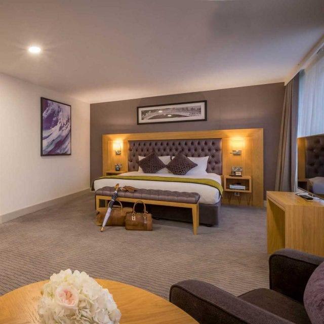 Presidential suite at Clayton Hotel Burlington road