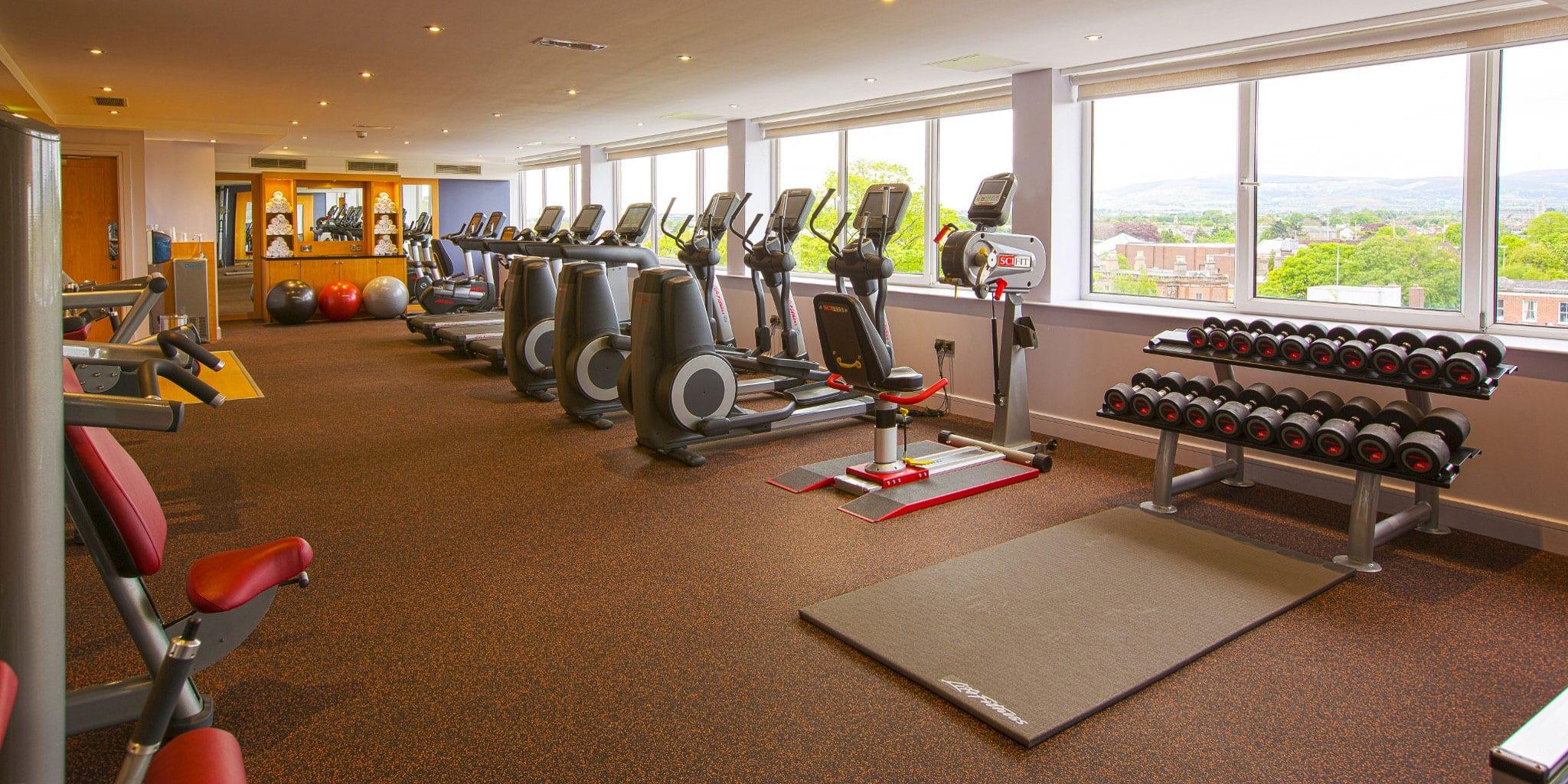 gym clayton hotel burlington road