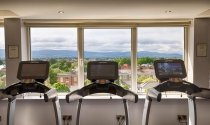 view-of-Dublin-Mountains-working-out-in-Clayton-Hotel-Burlington-Road-gym