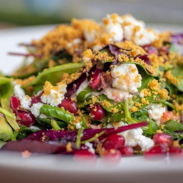 A salad at Clayton Hotel Burlington Road