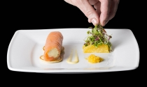 Roulade of Mcknna's Oak Smoked Irish Salmon
