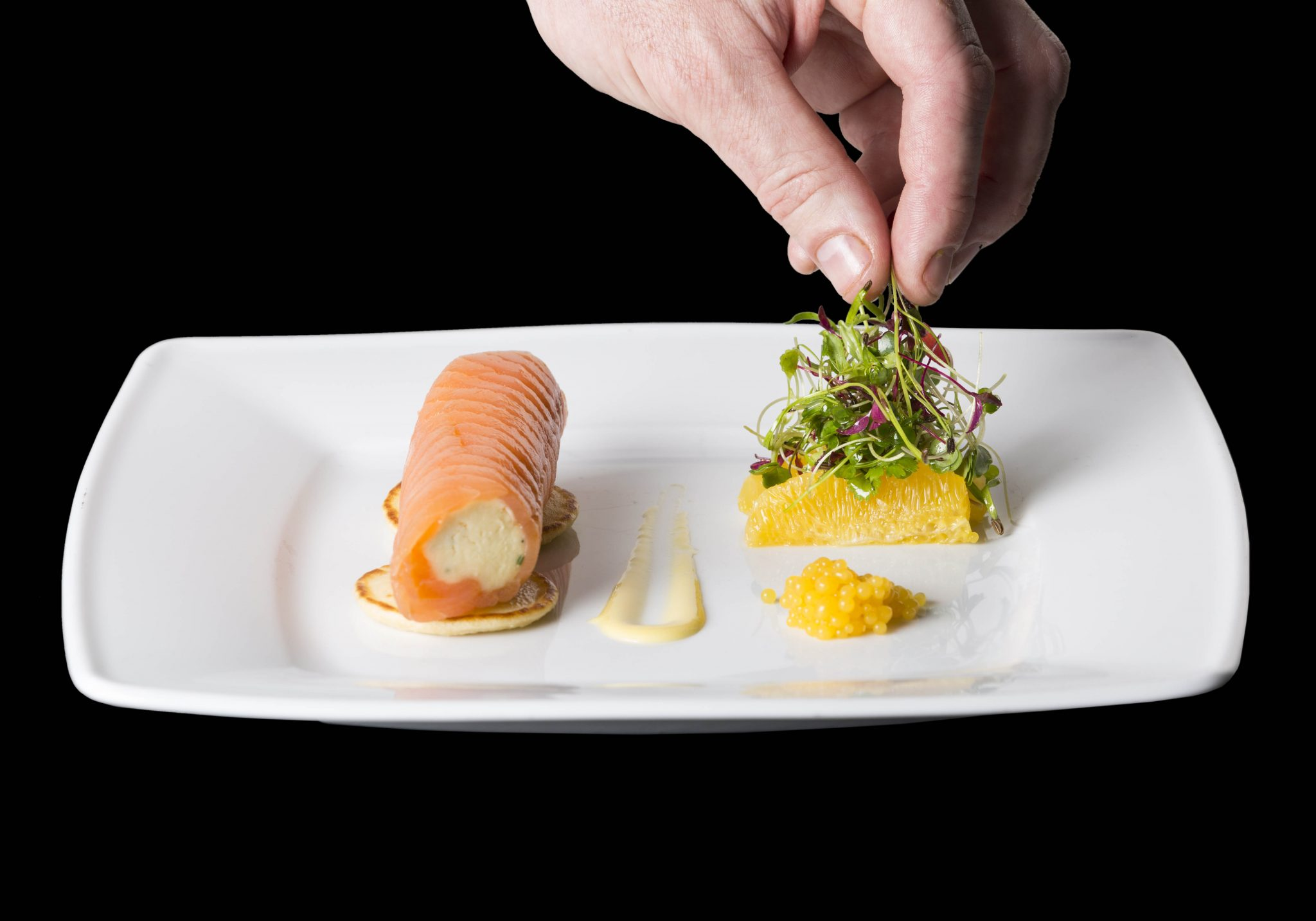 Clayton Hotel's Smoked Irish Salmon